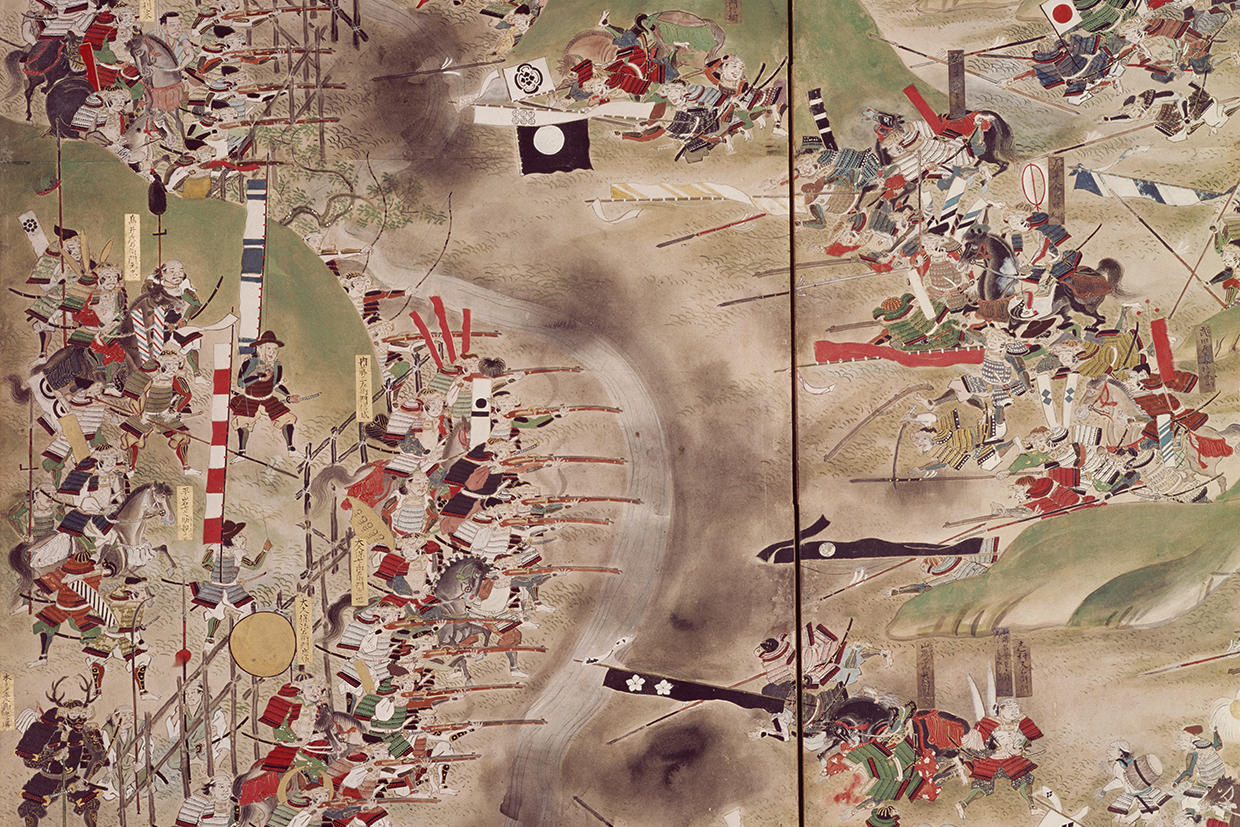 Scenes of Battle—Depictions of Brave Warriors of the Past