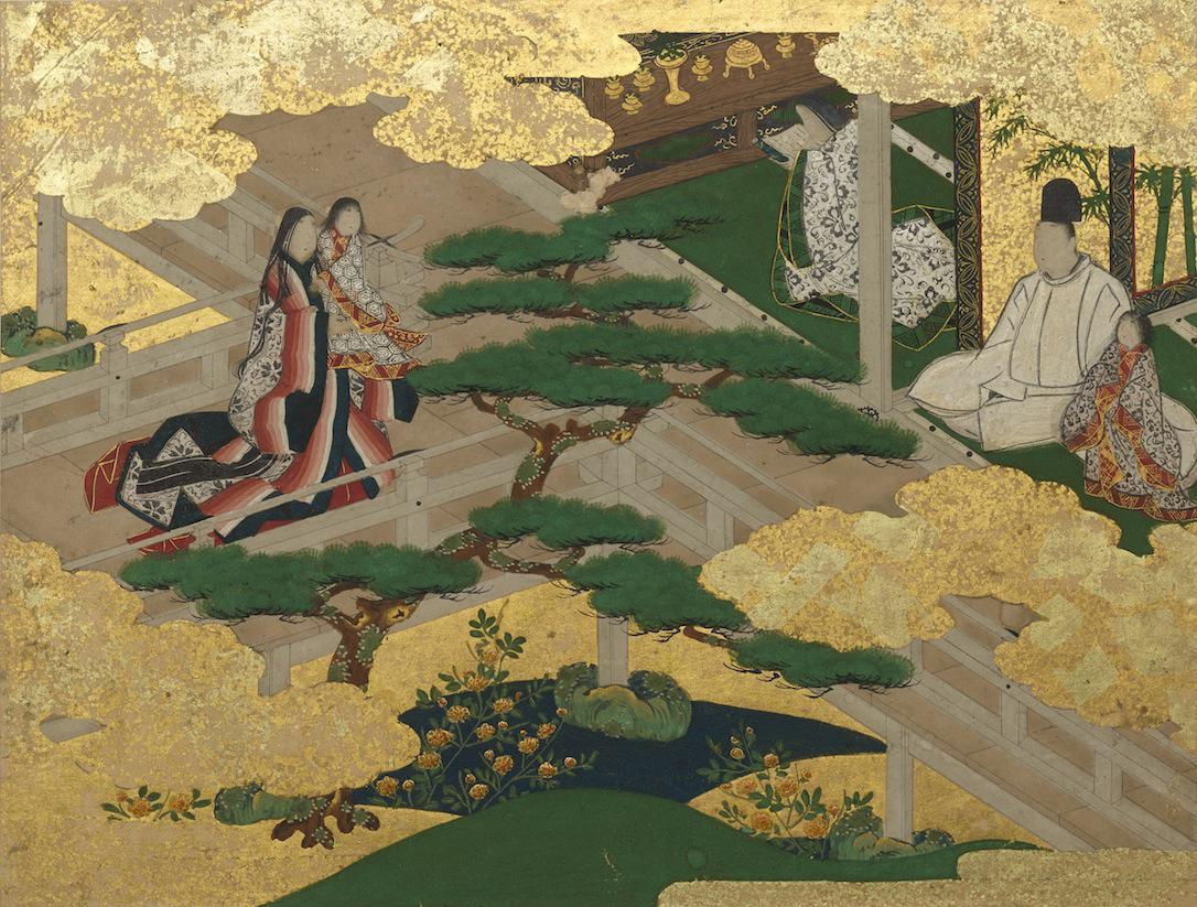 Gorgeous Genjie―Genji Monogatari Tekagami (Scenes from The Tale of Genji) (Important cultural property)