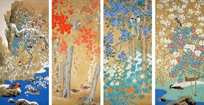 Special Exhibition Commemorating a Decade since the Yamatane Museum of Art Opened in Hiroo <br/>A World of Flowers ―Coloring the Four Seasons