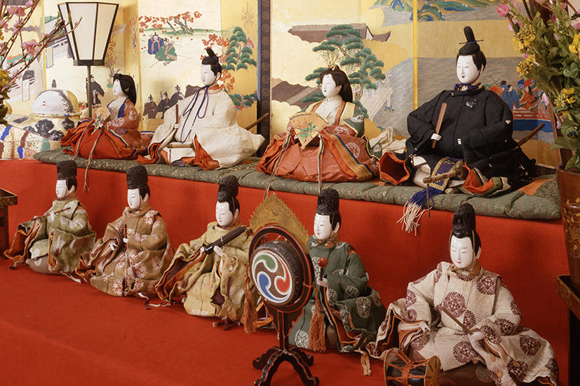 The Doll Festival in the Owari Tokugawa Family