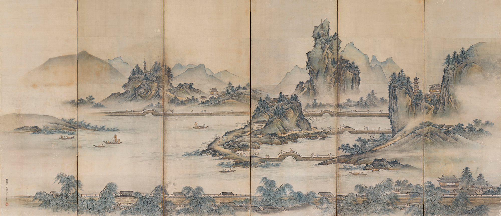 Admiration for Landscapes ― Meishō Hakkei, Eight Scenic Views