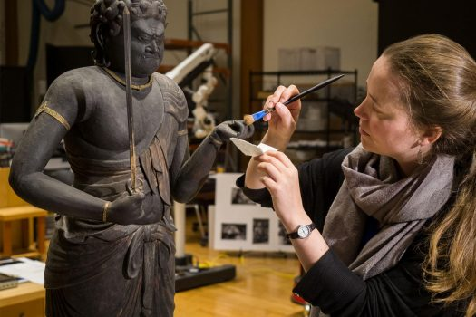 Conservation in Action: Japanese Buddhist Sculpture in a New Light