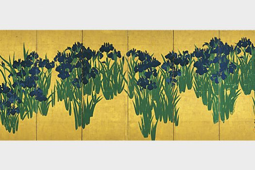 Special Exhibition <br/>The National Treasure Irises Screens <br/>The Allure of Color