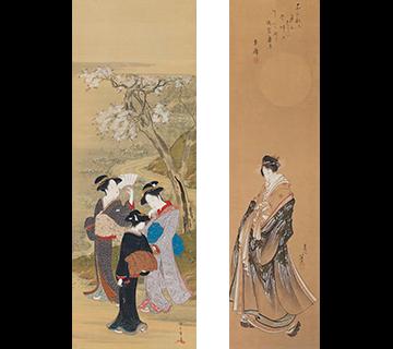 Hand Painted Ukiyo-e — From Moronobu to Shunshō, Utamaro and Hokusai