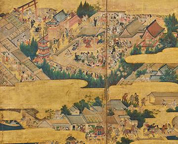 Painted Folding Screens, Byōbu-e — Brilliance of the Japanese Esthetic
